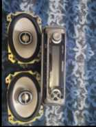 for sale car stereo receiver and 2 4x6 Infinity Speakers ...