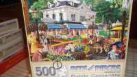 PUZZLES 500 and 100 PIECES