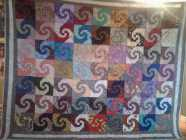I have for sale a New hand made Queen Size Quilt. Snail's ...