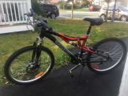 Raleigh 21 Speed Dual Suspension Mountain Bike