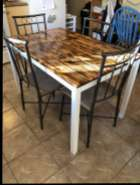 Refurbished Table & Chairs