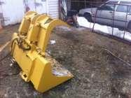 """72"""" bulk material/ rock grapple for a skidsteer loader. ..."""
