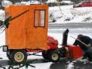 Snowblower Cab
