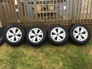Studded Winter Tires & Alloy Rims