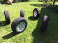 Tires and Rims Jeep Wrangler (NEW take offs)