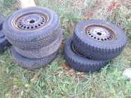 Tires on rims