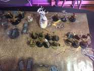 Warhammer tabletop dic rpg game. 2 full armies