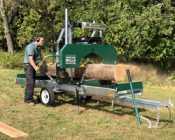 Woodland Bandsaw sawmill - Photo 11 of 12