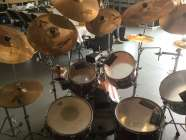Yamaha Custom Touring 7 drum set 15 symbols