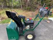For sale, snowblower in great condition. Not sure of ...