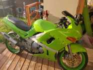 Zx6 Just painted